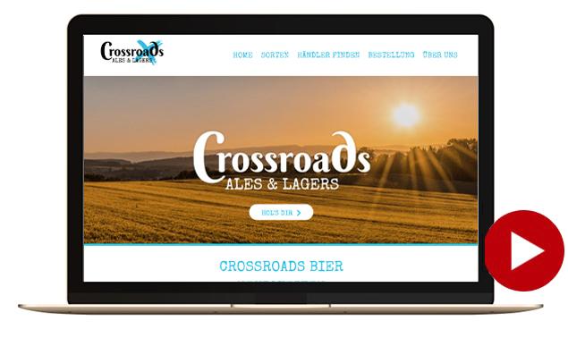 webseite crossroads bier